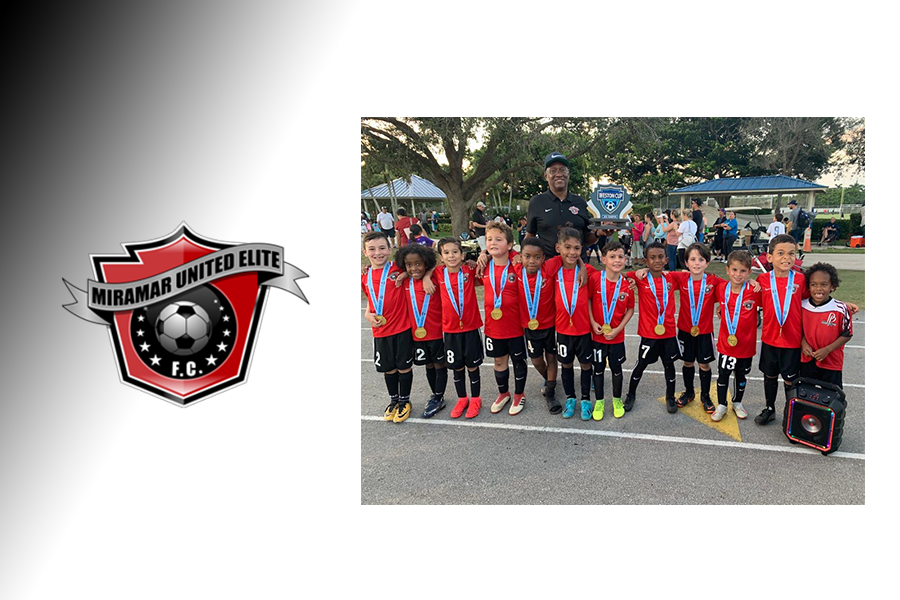 MUEFC Boys Red U-8 2020 Weston Cup Champions